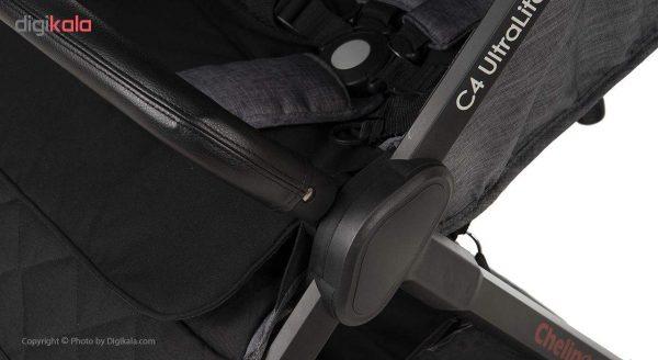 ست کالسکه و کریر چلینو مدل C4 UltraLight